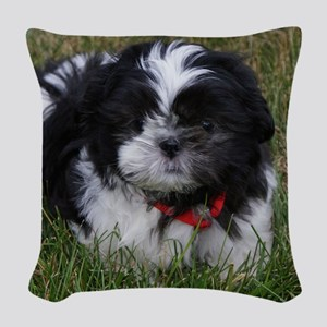 jigsaw002 Woven Throw Pillow