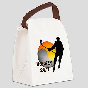 hockey24/7 Canvas Lunch Bag