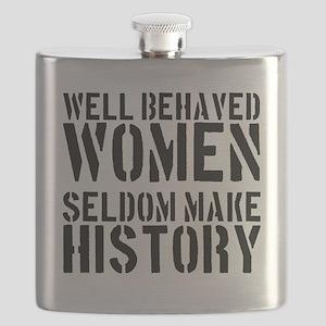 2000x2000wellbehavedwomenseldommakehistory Flask