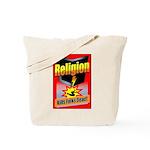 Religion: Kills Folks Dead Tote Bag