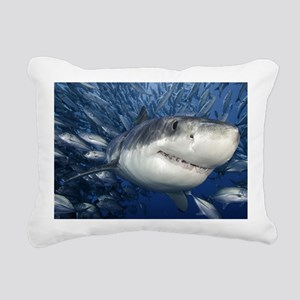 greatwhiteandfriends Rectangular Canvas Pillow