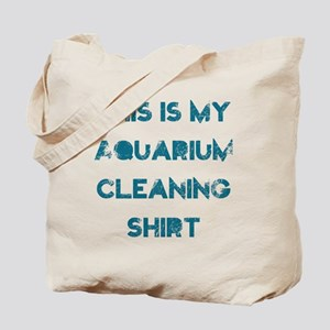 This is my aquarium cleaning shirt Tote Bag