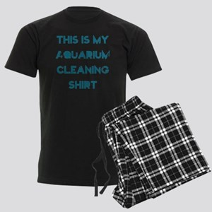 This is my aquarium cleaning s Men's Dark Pajamas