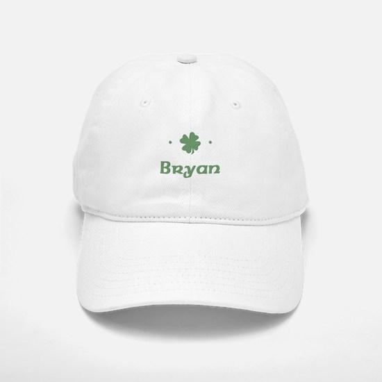 """""""Shamrock - Bryan"""" Baseball Baseball Cap"""