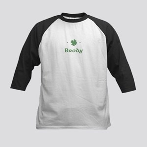 """Shamrock - Brody"" Kids Baseball Jersey"