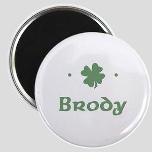 """Shamrock - Brody"" Magnet"