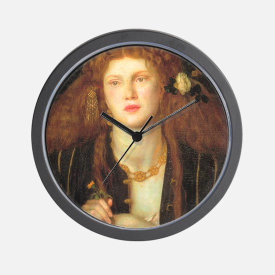 Rossetti Wall Clock