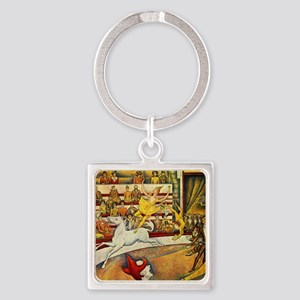 Georges_Seurat Square Keychain