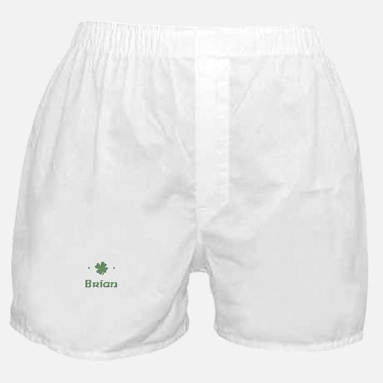 """Shamrock - Brian"" Boxer Shorts"