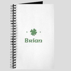 """Shamrock - Brian"" Journal"