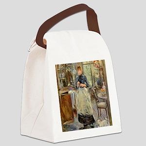 Berthe Morisot Canvas Lunch Bag