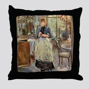 Berthe Morisot Throw Pillow