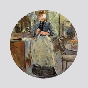 Berthe Morisot Round Ornament