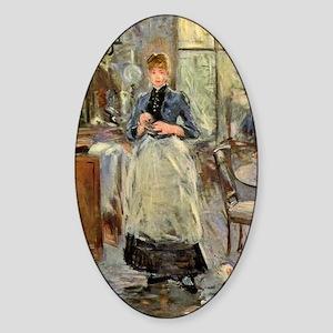 Berthe Morisot Sticker (Oval)
