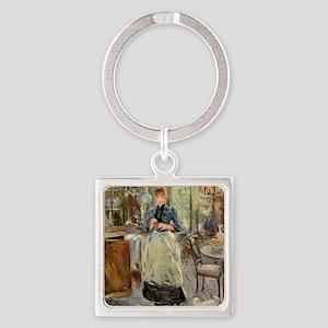 Berthe Morisot Square Keychain