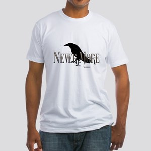 Never More 2 Fitted T-Shirt