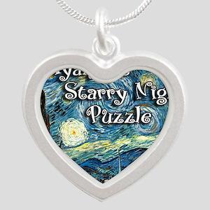 Ayannas Silver Heart Necklace