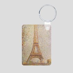 Georges Seurat Aluminum Photo Keychain