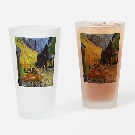 Night Cafe Drinking Glass