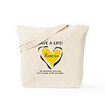 Save A Life - Rescue A Pet Tote Bag