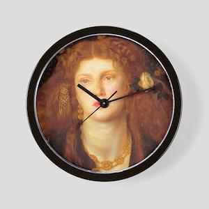 Rossetti Wall Clock