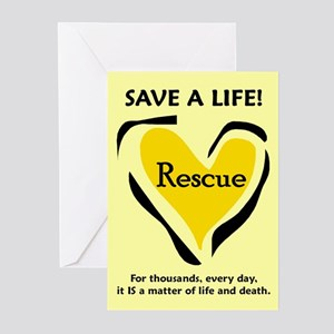 Save A Life - Greeting Cards (Pk of 10)