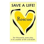 Save A Life - Rescue A Pet Postcards (Pkg. of 8)