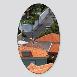 Tenerife. Overview of typical neigh Sticker (Oval)