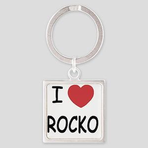 ROCKO Square Keychain