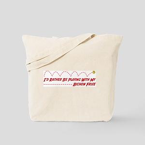 Bichon Play Tote Bag