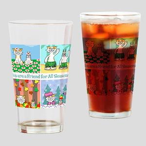 4SQTSHIRT Drinking Glass