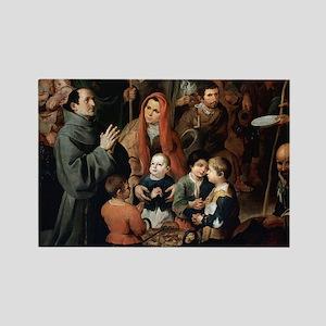 Bartolome Esteban (1617-1682). Sp Rectangle Magnet