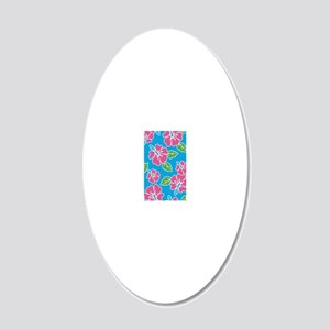 tropical_1_iphone4-slider 20x12 Oval Wall Decal