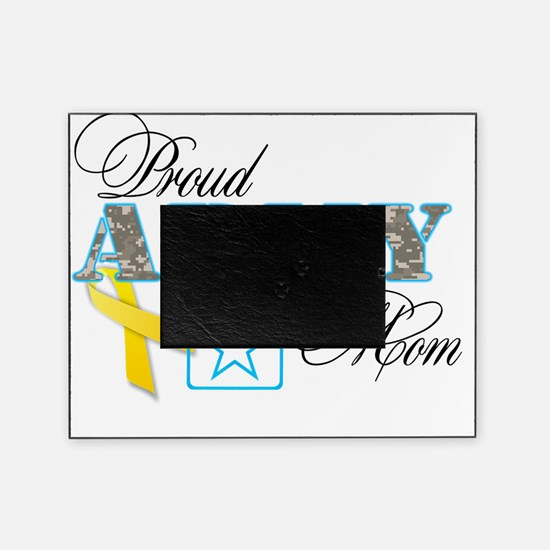 proud army mom1 Picture Frame