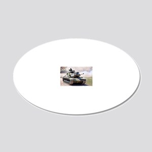M60 20x12 Oval Wall Decal