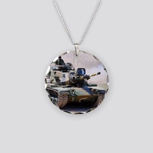 M60 Necklace Circle Charm