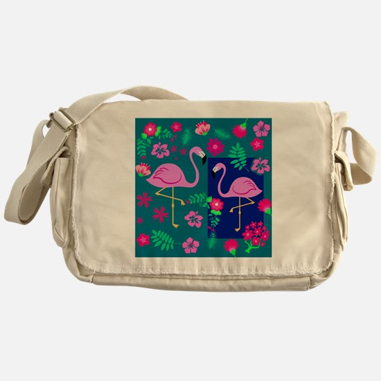 Cool Tropical shopping Messenger Bag