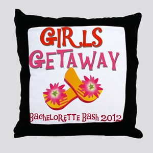 GIRLSGETAWAY2012 Throw Pillow