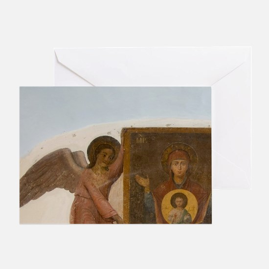 Church of St. Dmitry on the Blood, f Greeting Card