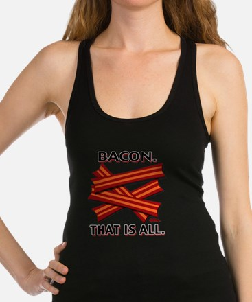 vcb-bacon-that-is-all-2011 Racerback Tank Top