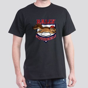 Rally Squirrels #1 Dark T-Shirt