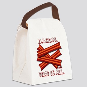 vcb-bacon-that-is-all-2011b Canvas Lunch Bag