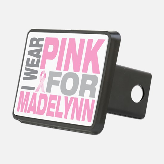 I-wear-pink-for-MADELYNN Hitch Cover