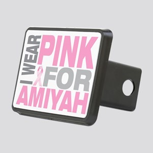 I-wear-pink-for-AMIYAH Rectangular Hitch Cover