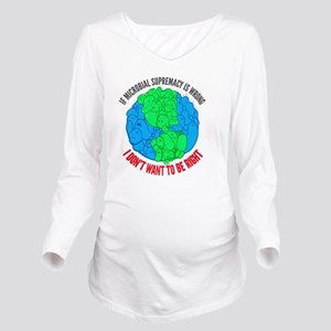 F2011logo Long Sleeve Maternity T-Shirt