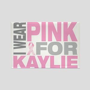 I-wear-pink-for-KAYLIE Rectangle Magnet