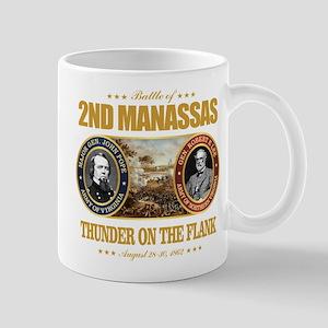 2nd Manassas (FH2) Large Mugs