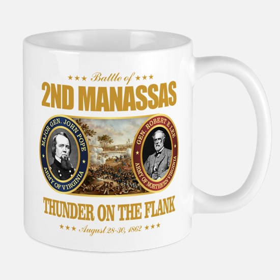 2nd Manassas (FH2) Large Mugs