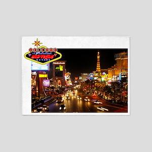 WMV Mad Vegas Strip 6000 5'x7'Area Rug