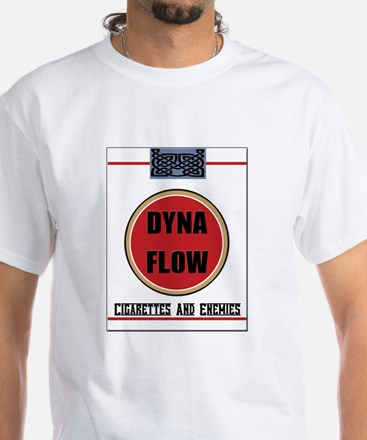 Cigarettes And Enemies White T-Shirt